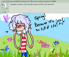 q1: Spring! by Ask-weather-princess