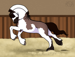 EE Mini Show - Liberty Armed Princess by EverlastingStables