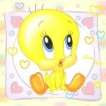 Baby Tweety by inuyashalover288