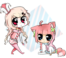 comm chibi-Missuses by Danny-chama