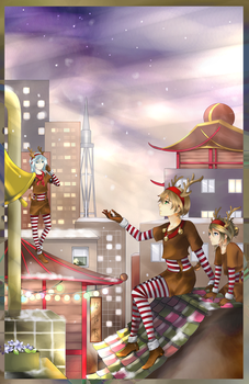 Happy Christmas ! by Selphie-T