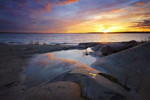 McKay Island Rock Pool by tfavretto