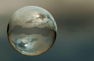 The World In A Bubble by MelanieCarey