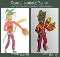 Draw this again! Meme by Kaysnee