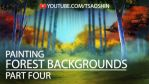 How to Digitally Paint a Forest Background Pt 4 by TsaoShin