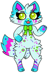 Say Hello To Confetti(New Character I adopted) by SuperLuigi1025