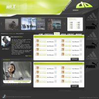 mr.X - Personalfolio 1.0 by rivadaice