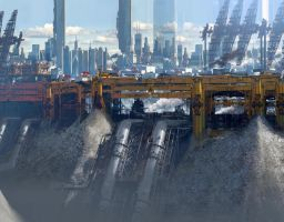Yellow city by paooo