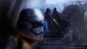 Episode VII - Fan art by DarthTemoc