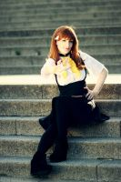 Gatchaman Crowds - Tachigawa Girl by aco-rea