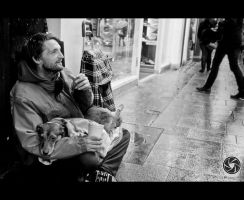 A Love For His Animals by Mfotografie