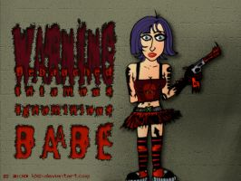 Debauched Babe by kXn