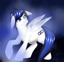 Blue Aura: request (updated) by LiiflessWolf