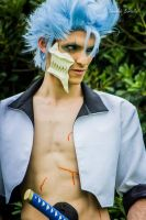 Grimmjow close-up by BadAssCosplay