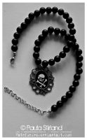 Skull and Cross Beads by hatefueled