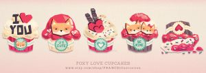 /// Foxy Love Cupcakes /// by guava