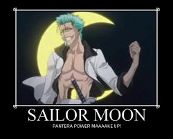 -Sailor Moon- Grimmjow by GothicaEmpress
