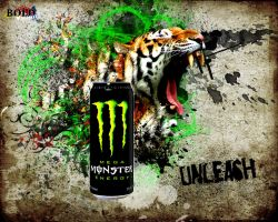 Monster Energy poster by RomanianGuy