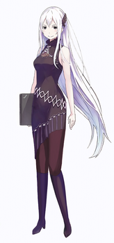 Contemporary Echidna by Viperys