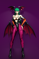Darkstalkers - Morrigan Aensland by IshikaHiruma
