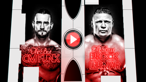 WWE Wrestlemania 31 Match Card: PUNK V.S LESNAR. by gonzaloctf