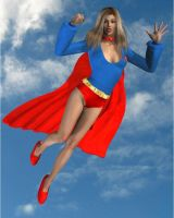 Super girl1970's by cattle6
