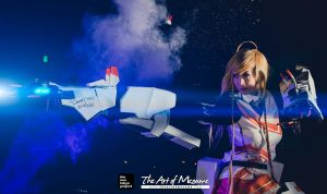 Mirai Suenaga's Retrograde Suit Cosplay by LadyAngelus