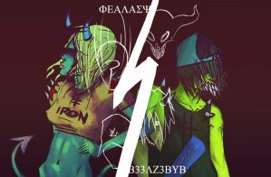 grinning till death do we part by b33lz3bub
