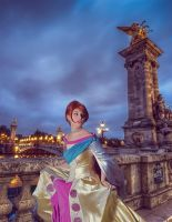 Anastasia - Paris's Bridge by Muralu