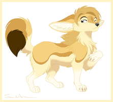 Undesignated Fennec Foxy by SarityCreations