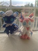 My Poke Plushies by ColorfulSketchings