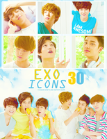 30 Exo-K ICONS by ll-black-star-ll