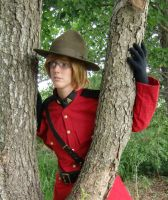 Canada: 'Can you see me?' by Beckza