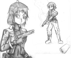 Peacekeeper Sketches by Fragraham