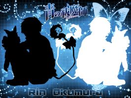 Rin Okumura Wallpaper by xXxCheekyCandyxXx