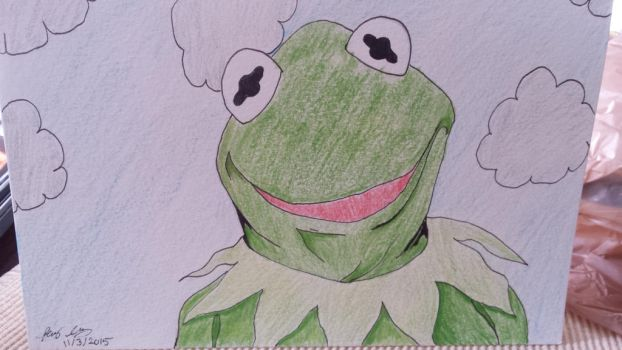 Kermit the frog by Flames3531