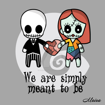 We are simply meant to be by MairaArtwork