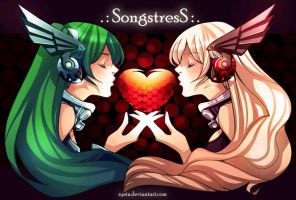 AT: Songstress by zyein