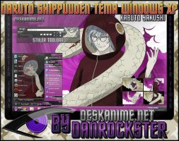 Kabuto Yakushi Theme Windows XP by Danrockster