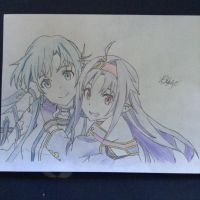 Sword art online 'coloured' by zblano