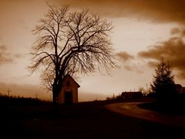 Alone on the road. by risible-juliette