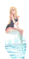 By the Pool by ArtofFlo