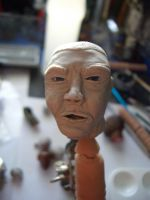 Soldier Head sculpt 3 fronth by SudsySutherland