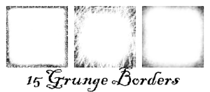 Grunge Borders by sltippy