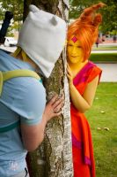 Adventure Time Cosplay - Peek a Boo! by faramon