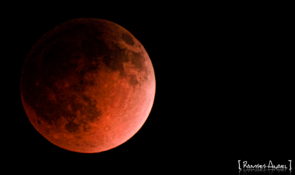 The Red Moon II by Ramses-Anael