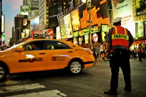 Yellow cab by neauport