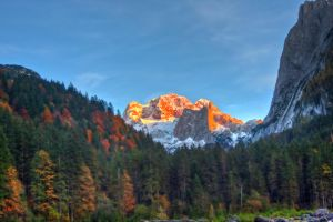 Dachstein Sunset by Toghar