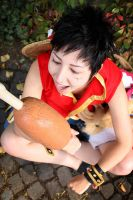 MEAT # Luffy D. Monkey - One Piece by Naraku-Sippschaft