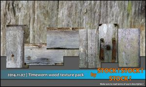 2014.11.07 | Timeworn wood texture pack by Stock-Stock-Stock